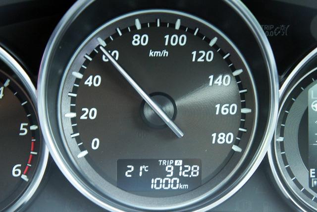 1000km記念