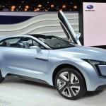スバル、ディーゼルハイブリッドのクロスオーバー・コンセプトカー「Viziv」を発表