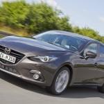 新型Mazda3(アクセラ) セダン、ロシアで捕捉?