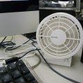 二重反転式扇風機 Sily Wind
