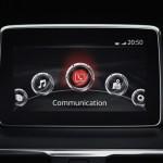 新型アクセラは車載情報機器「Mazda Connect(マツダ コネクト)」を標準装備