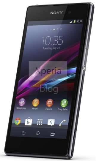 Xperia Z1のオフィシャル画像