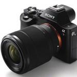 ソニーのEマウントフルサイズカメラ、α7とα7Rの画像