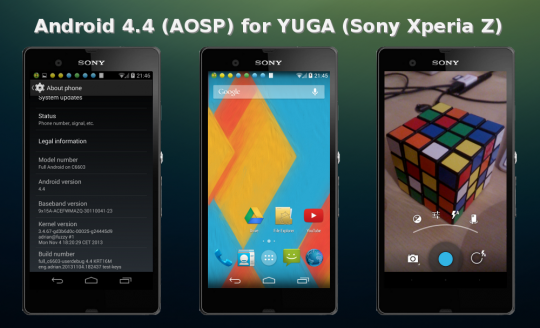 Android 4.4 for YUGA