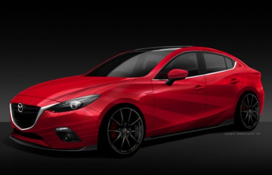 Mazda3 SEMA向けカスタムモデル