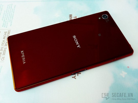 Xperia Z1 Limited Red Version