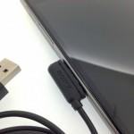 密林でSONY Xperia Z Ultra / Z1用USBマグネットチャージケーブルを購入しました