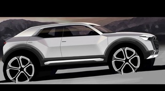 Audi Q1ディーザー