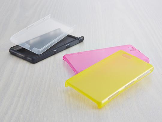 Xperia Z1 f用極薄カバーセット