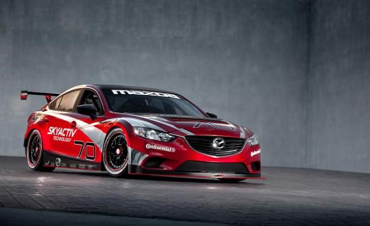 Mazda SKYACTIV-D Grand Am-GX racer
