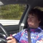 ドライバーの笑顔が印象的なスバルLEVORGの試乗動画