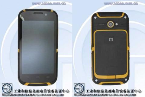 ZTEのタフネススマートフォン