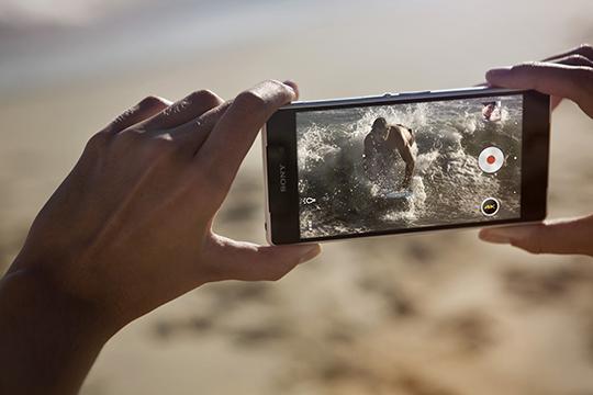 Xperia Z2は防水機能を持つ最高のカメラ