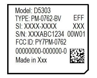 FCCで公開されたラベル