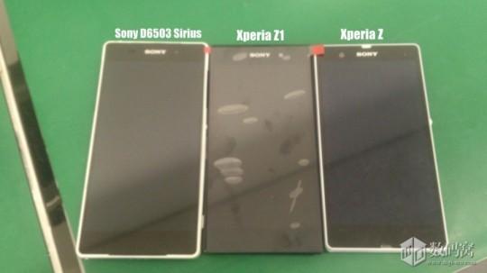 D6503とZ、Z1との比較