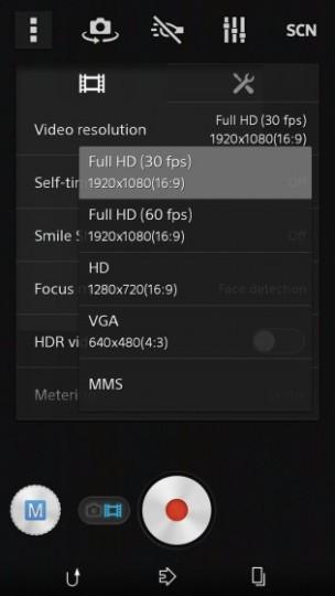 D6503はフルHD 60fpsで撮影可能