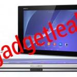 ソニーの新型タブレット「Castor」、Xperia Z2 Tabletの複数の画像がリーク。ホワイトとブラックモデルを確認できます