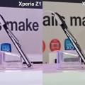 Xperia Z2とXperia Z1の比較
