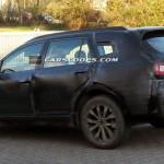 スバル新型アウトバックの新しいテスト車両の写真が公開されています