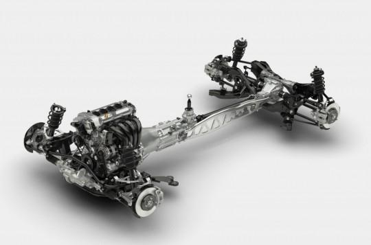 次期Mazda MX-5 SKYACTIVシャシー