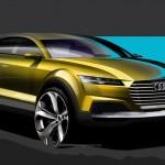 新型Audi Q4の公式スケッチが公開されました