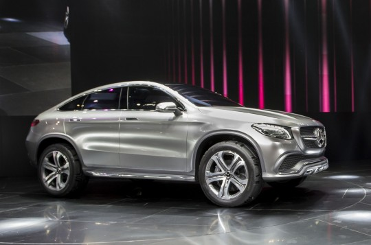 Mercedes-Benz Concept SUV Coupe