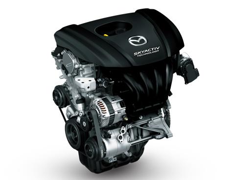 スカイアクティブ・ガソリンエンジン
