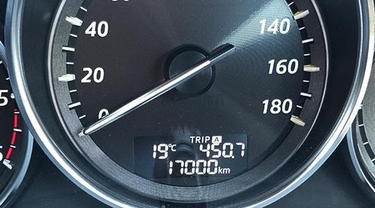 17000km