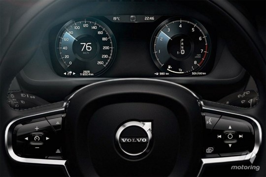 volov-cx90-full-Digital-meter