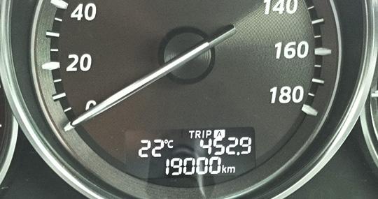 19,000km