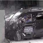マツダ Mazda5(プレマシー)がIIHSの衝突試験(スモールオーバーラップ)で最低評価に