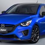 いま注目のマツダスピードデミオ(Mazda2 MPS)の予想CG