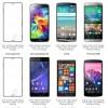 Xperia Z3、Xperia Z3 Compactと主要なスマートフォンのサイズを比較