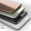 Xperia Z3も4色展開!黒、白、銀緑、銅(金)