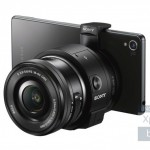 ソニーの新レンズスタイルカメラ「QX1」のプレス画像が流出!Xperia Z3と合体しています