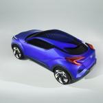 [パリモーターショー2014]これがトヨタの小型クロスオーバー「C-HRコンセプト」