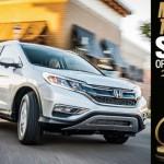 アメリカでは大人気!ホンダCR-Vが「2015 Motor Trend SUV of the Year」を獲得