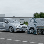 衝突被害軽減ブレーキなど、先進安全技術の性能評価でレヴォーグが高評価