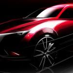 マツダ、新型コンパクトクロスオーバーSUV「CX-3」をロサンゼルスモーターショー2014で発表
