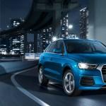 Audi Q3マイナーチェンジで顔つきが変わる