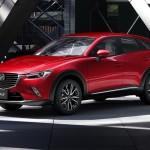 マツダ、新型コンパクトSUV CX-3を2月に発売すると発表(ニュース映像追加)