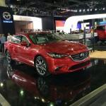 [ロサンゼルスモーターショー2014]マツダ マイナーチェンジ版Mazda6(アテンザ)も登場!