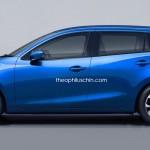 居住性・積載性も問題なし、新型Mazda2 ワゴンモデルの予想CG