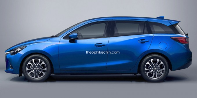Mazda2 Wagonの予想CG