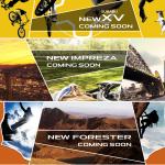 スバル、新型インプレッサ・新型XV・新型フォレスターの先行予約受付中