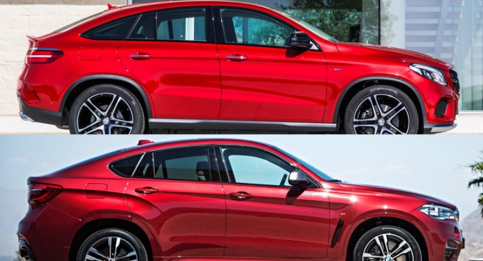 BMW-X6-Mercedes-GLE-Coupe