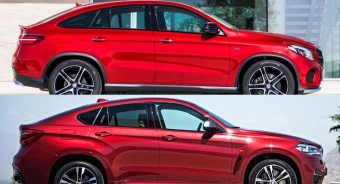 Bmw X6とメルセデスベンツgleクーペのライバル比較 T S Media