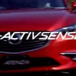 [動画]マツダ、i-ACTIVSENSEを説明する動画を公開