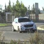 [動画]メルセデスベンツGLCクラス・プロトタイプの走行シーン