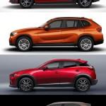 気になるクロスオーバー車のサイズを比較、マツダCX-3はセグメントを感じさせないデザイン?